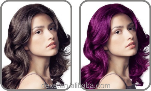 Flax Hair Color Cream With Dexe Low Cost Factory Price For Hair ...