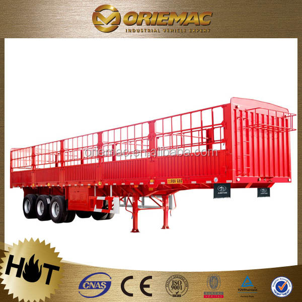 CIMC barrier semi-trailer 20t low bed trailer