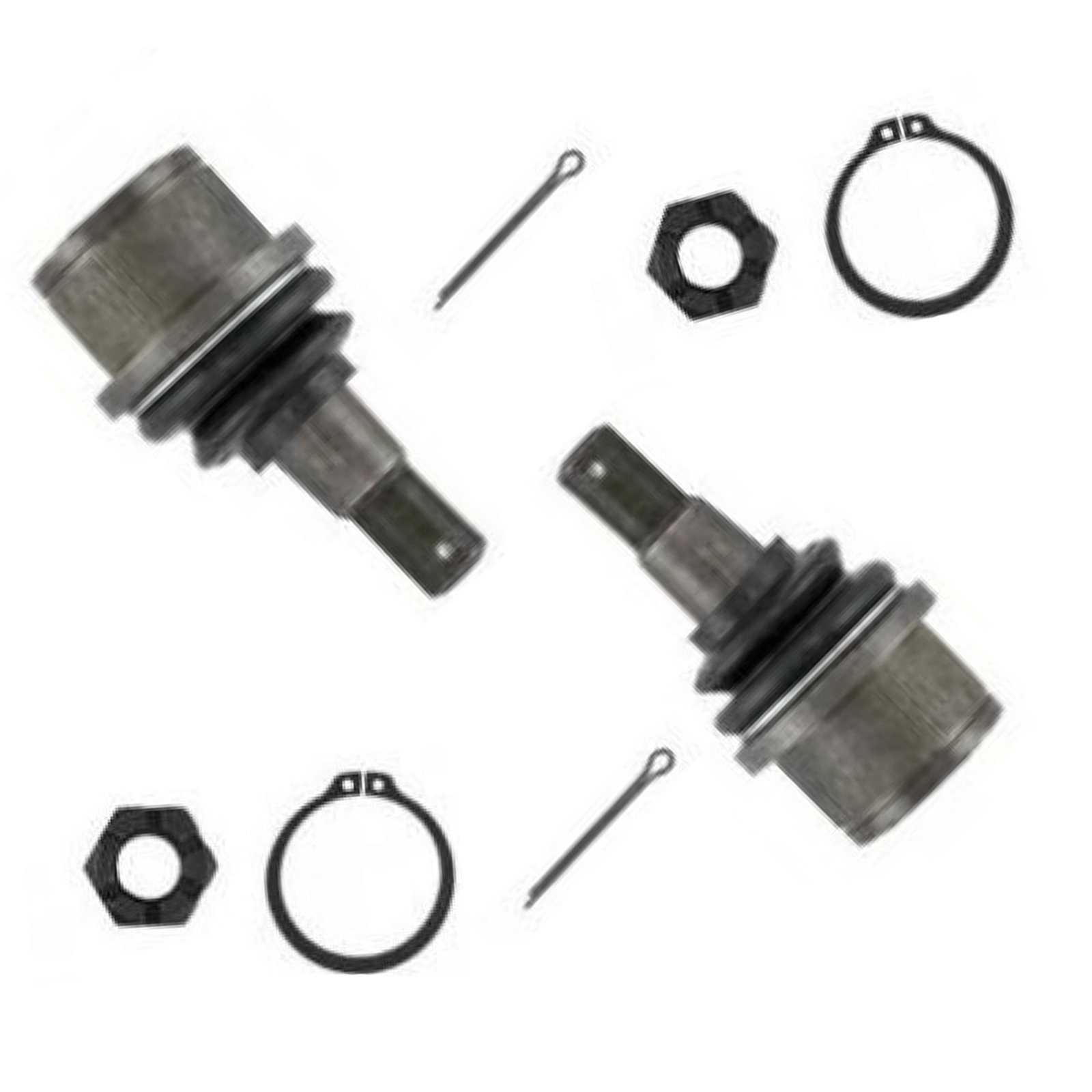 Detroit Axle - Both (2) Brand New Driver & Passenger Side Front Lower Ball Joint - 2wd Ram 2500-3500 - 10-Year Warranty