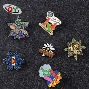 Factory custom high quality enamel metal lapel pins, soft enamel/hard enamel lapel pin