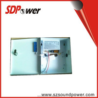 SDPower 100-240V security system ups power supply 12v 5a for cctv single output with led indicators