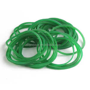 High quality Transparent red rubber band
