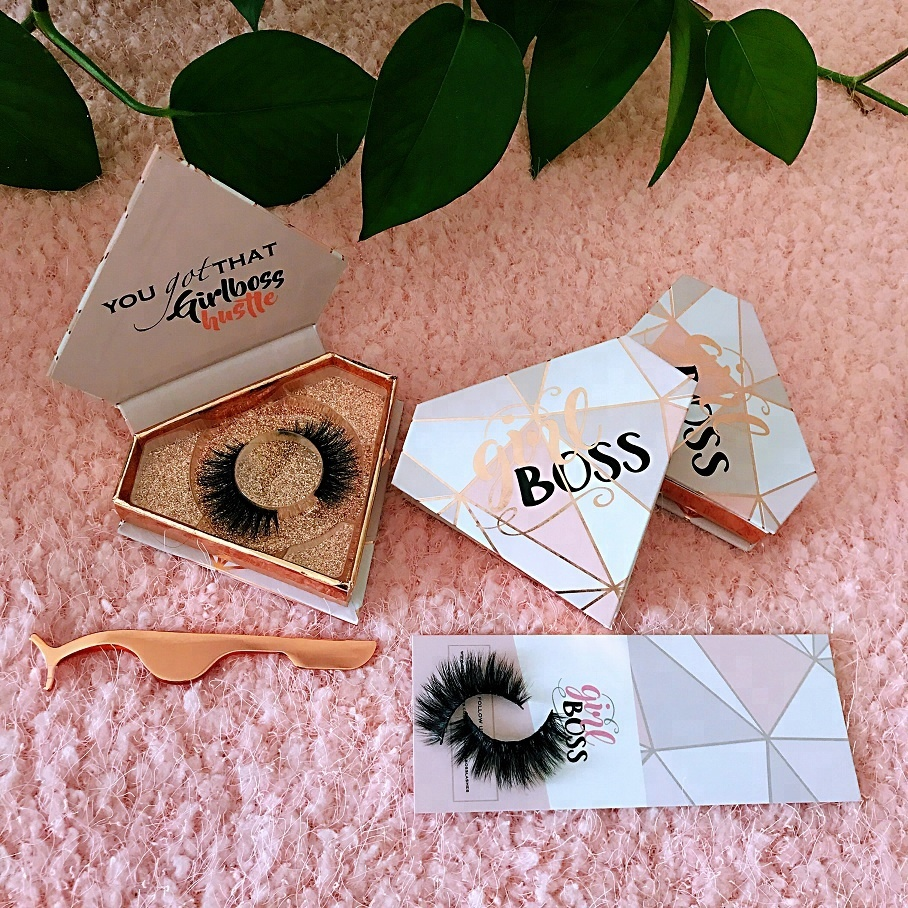Eyelash package box extensions case tray display extension tweezers private label фото