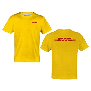 PURE Hot Sale New Design Solid yellow Custom Sublimation Polyester Polo Mens Women Shirts t-shirt