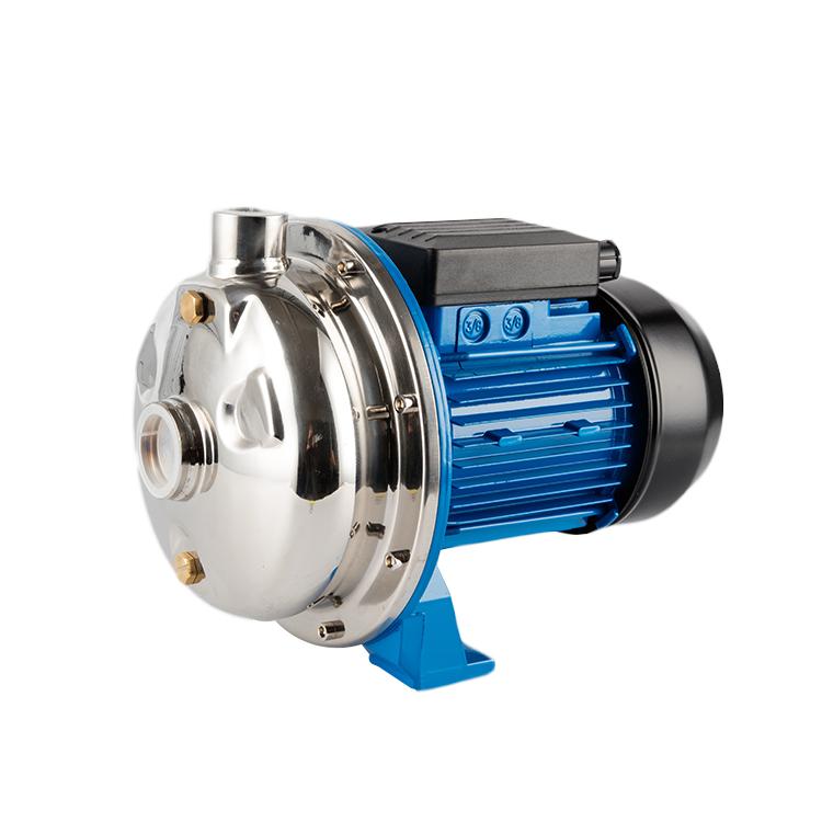 ออกแบบใหม่ 2019 AISI 304 ปั๊มสแตนเลส 304 ปิด centrifuge ใบพัดน้ำทะเลปั๊ม