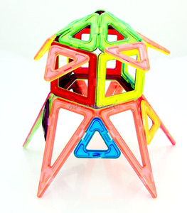 Wholesale toys plastic magnetic building blocks kazi building blocks