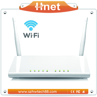 Fast 300Mbps Wireless ADSL modem Ethernet 4 Lan ports ADSL2/2+ N network wifi router