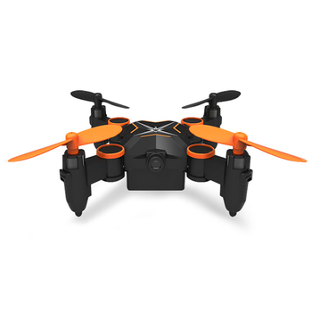 Foldable Mini Nano RC Quadcopter Drone for Kids Gift Portable Pocket aircraft with Altitude Hold 3D Flips and Headless Mode