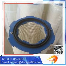 Easy Clean Mini Pleated Polyester Air Filter Cartridge From Manufacturing Company