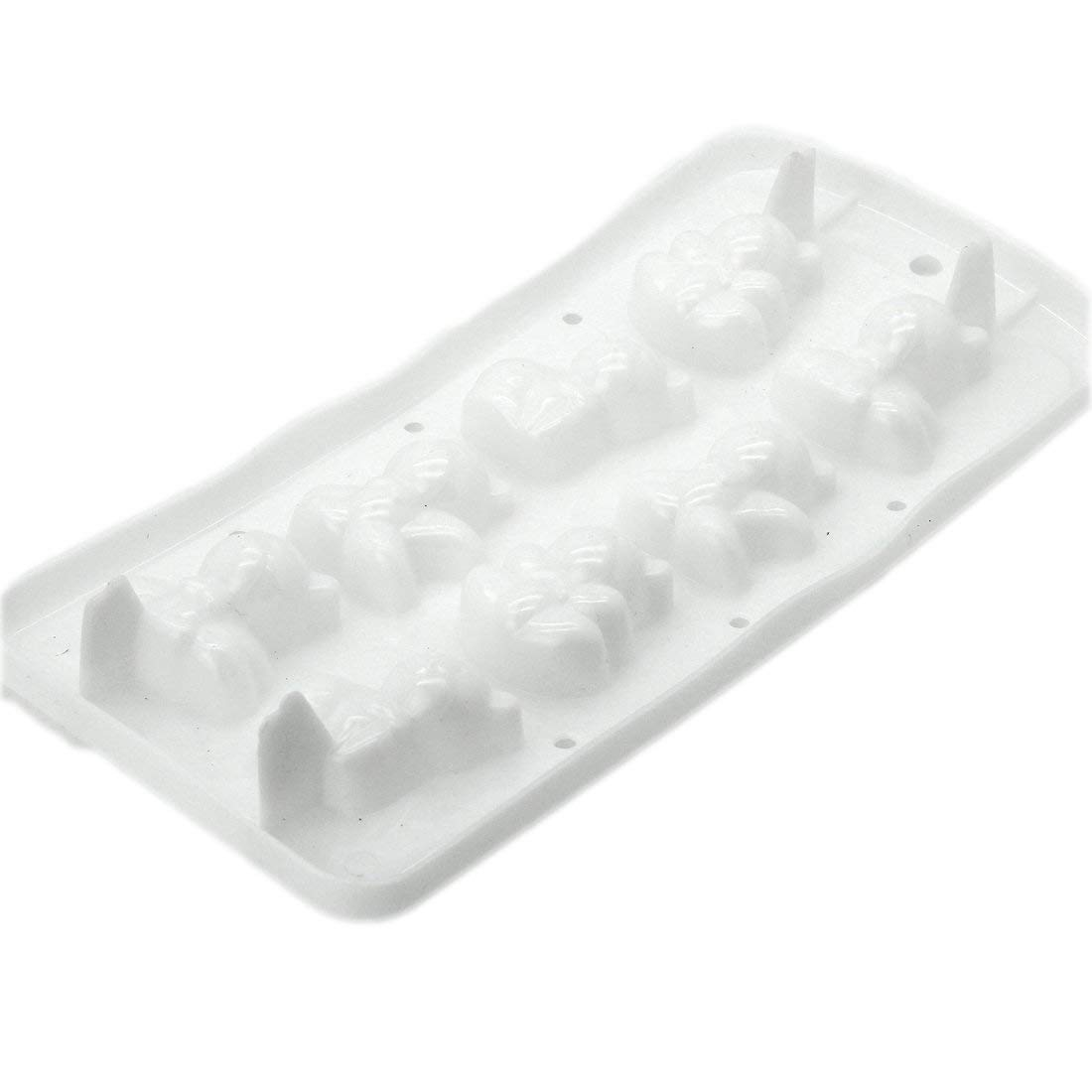 DUFUSTORE Freeze Beer Mould Party Bear Pattern Random Color Ice Cube Mold Tray