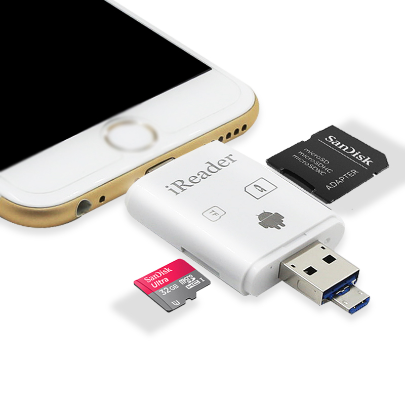 Memory Card Reader For Iphone