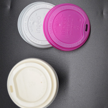 100% Biodegradable Coffee Lid With Cup