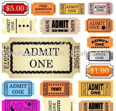 Admit One Ticket Admit One Ticket Suppliers and Manufacturers at – Admit One Template