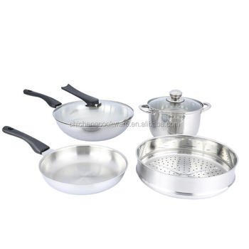 5 Ply Stainless Steel Kitchen Queen Cookware Set