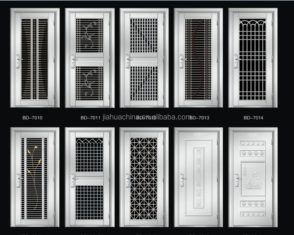 Alibaba Best Sale Stainless Steel Door Design Security Screen Door ...