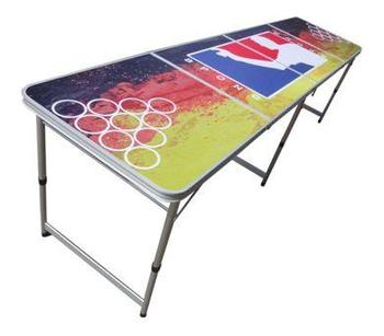 8ft Beer Pong Table Party Outdoor Tailgate