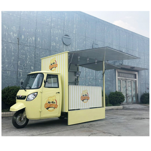 Customised New Design Street Electric Tricycle Food Cart /Mobile Food Truck