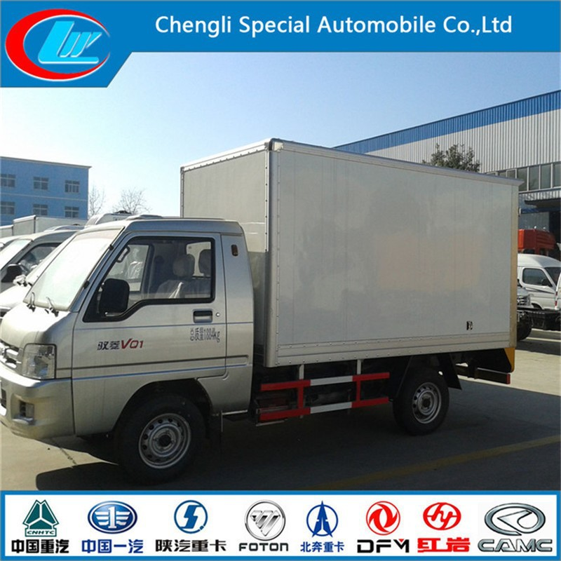 Best configuration van truck high performance FOTON Forland mobile cold room