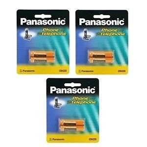 3 Packs of OEM Panasonic Hhr-4dpa/2b Ni-mh Rechargeable Cordless Phone Battery Fast Shipping Ship Worldwide