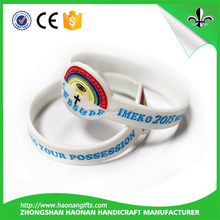 Promotional gifts and toys Create Your Own Brand Rubber Bracelets No Minimum Order Silicone Bracelets