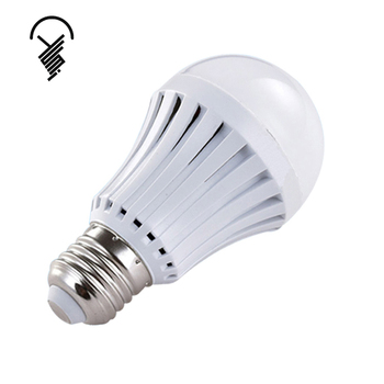 Low price high efficiency energy saving rechargeable E27 intelligent led emergency bulb
