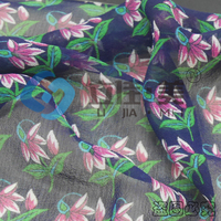 8MM Georgette Printed Silk Fabric custom pure silk fabric for tie china suppliers bulk buy from china