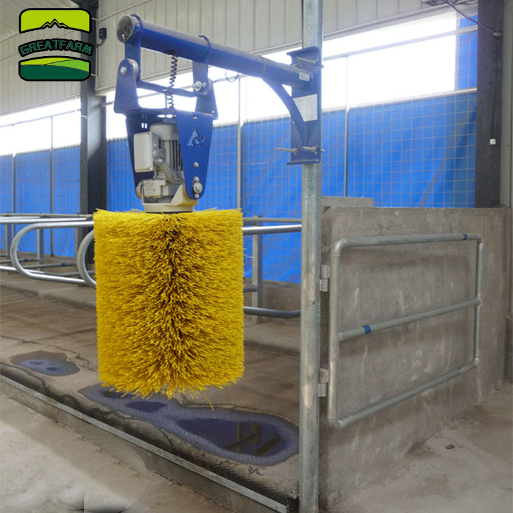 Happy cow brush electric cow brush delaval swinging cow brush price