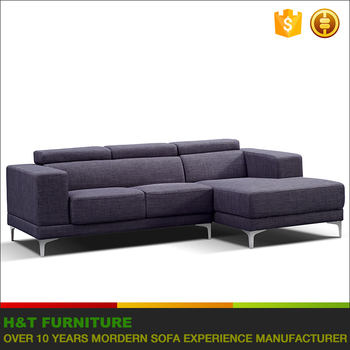 H225 Promotion L Shape Fabric Sectional Sofa For Factory Outlet