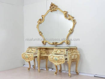 Luxury Antique French Provincial Console And Mirrors Ndt18 Buy