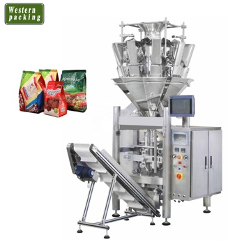 Automatic Vertical Pouch Small Potato Chips Snack Packing Machine