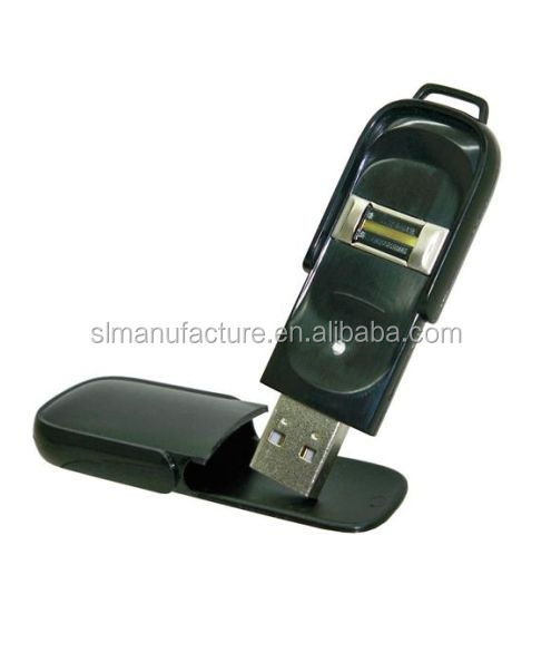 high class Biometric usb flash drive, Fingerprint encryption usb flash disk business security usb stick