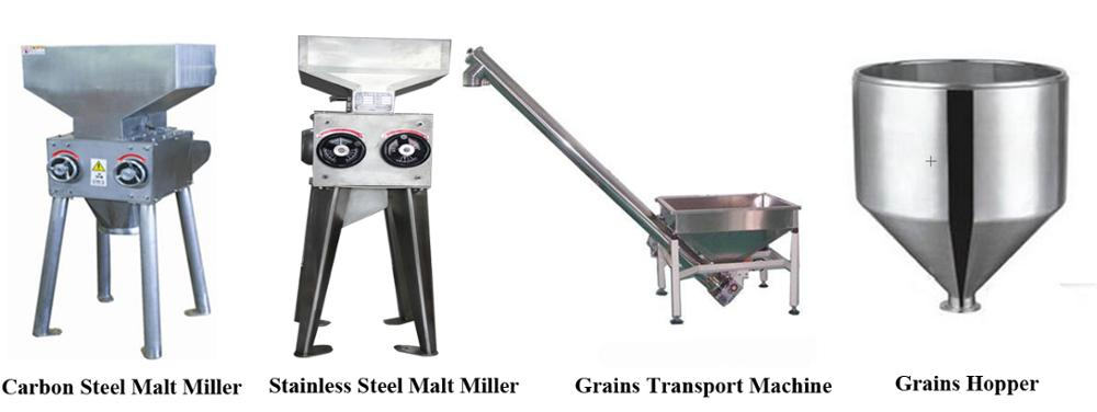 stainless steel brewery equipment 5000l brew kettle