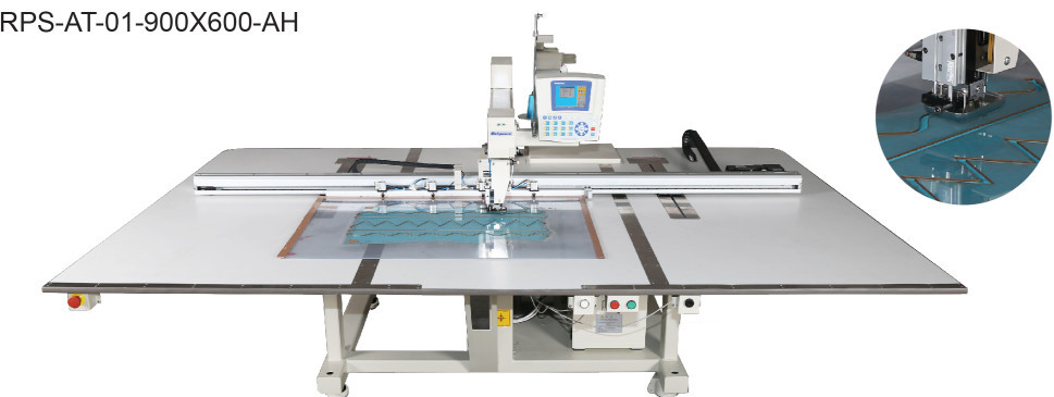 Richpeace Computerized Long Arm Smocking Sewing Machine