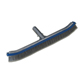 18''/45cm Deluxe Swimming Pool wall Brush cleaning equipment W/ Alu Back& Stainless steel Bristle