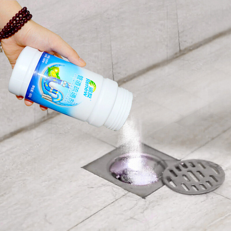 Toilet & Kitchen Pipe Drain Cleaner <strong>Powder</strong>