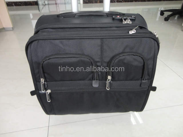 Computer Bag Mobile Office Luggage Four 360 Degree Wheel Trolley Soft Turn Wheels Product On Alibaba