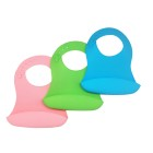 Waterproof Easy Clean Dishwasher Safe Silicone Soft Baby Bibs