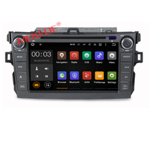 Android 6.0 system Car mp3 player with bluetooth for Toyota corolla car gps navigation