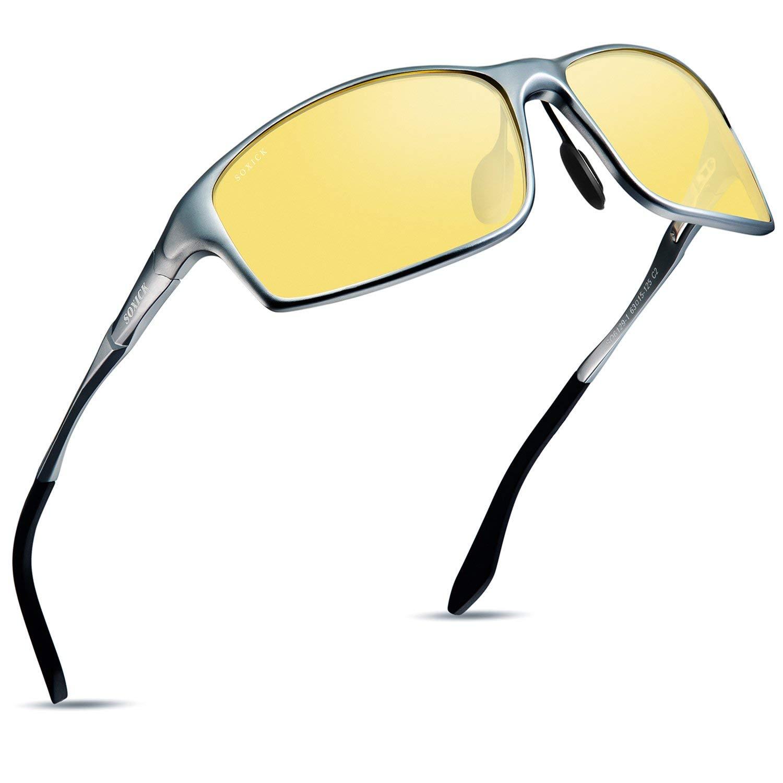 03ea9b8cd9d Soxick Night Driving Polarized Glasses for Men Women Anti Glare Rainy Safe  HD Night Vision HOT