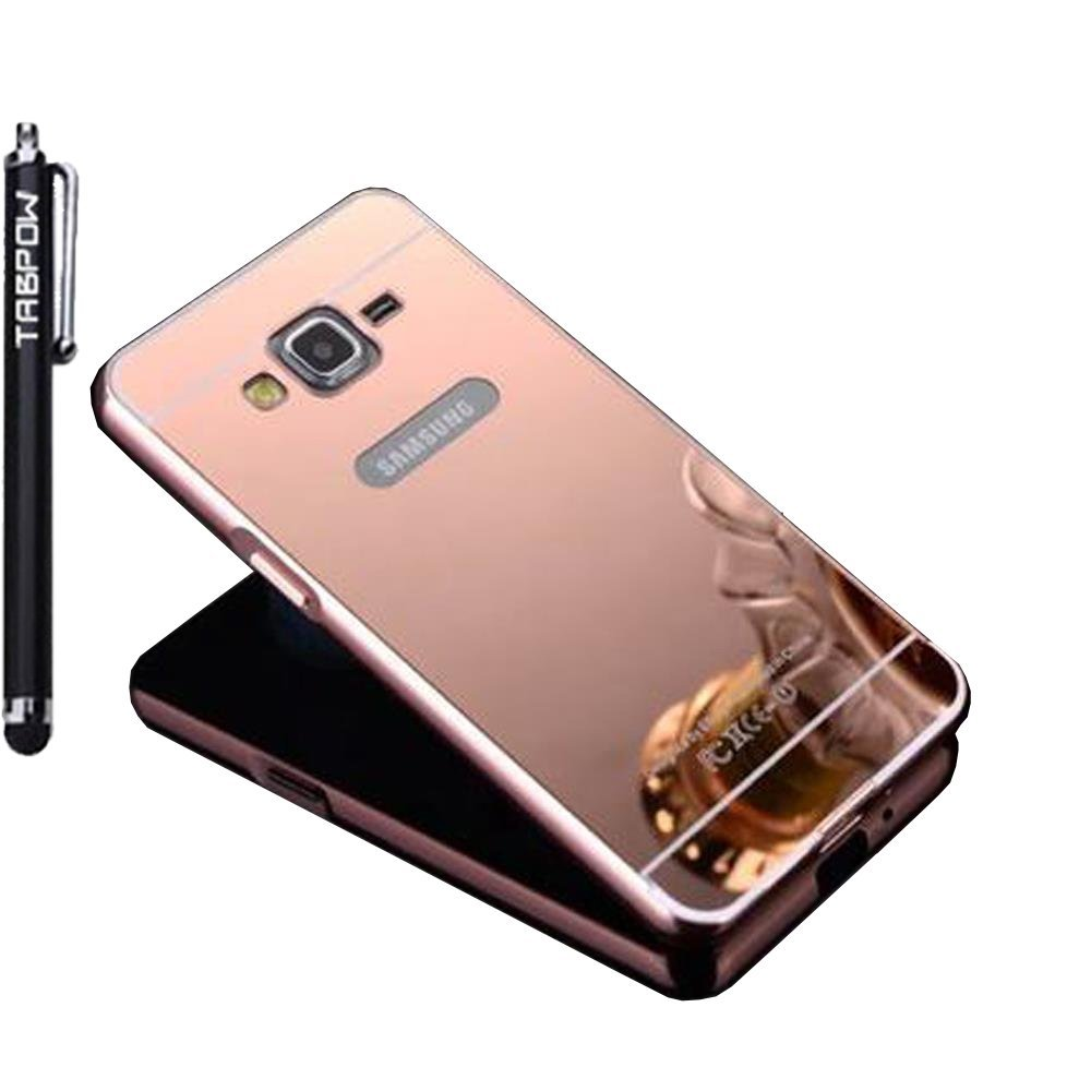 Samsung Galaxy Grand Prime Case, TabPow [Electroplating Series] Rose Gold Luxury Hard Back Case Cover Bumper [Mirror Case] For Samsung Galaxy Grand Prime G530 G530H