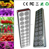 2017 hydroponic greenhouse systems LED new generation CIDLY smart actual power 600w led grow light