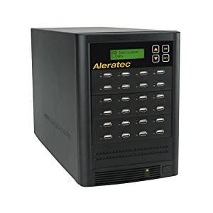 Aleratec Direct V2 USB HDD Copy Tower Duplicator Optical Drives 330121 Black