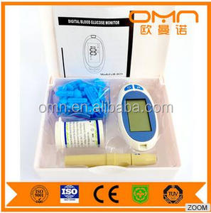2 Channels cell counter Auto Hematology Analyzer 3 parts CBC machine