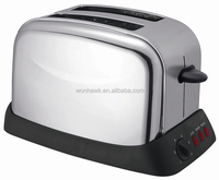 2 slot 2 slice cool touch electric bread toaster with 1000W power