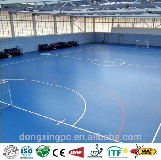 Futsal flooring cost gurus floor for Indoor sport court cost