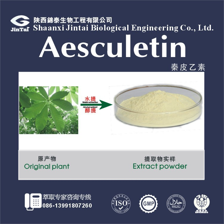 best price bulk 98% aesculetin esculetin <strong>powder</strong>
