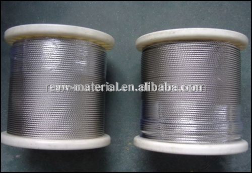 Best selling 7x7 stainless steel wire rope