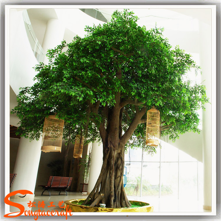 banyan tree plants artificial autumn tree artificial tree for Artificial Ornamental Plants