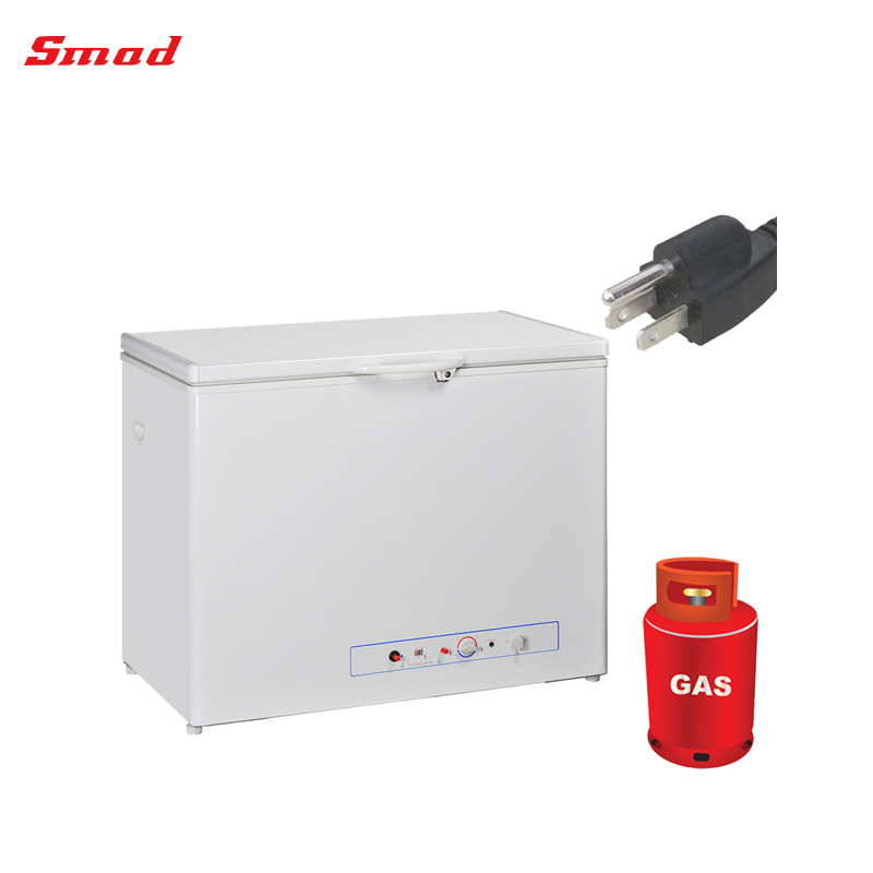 Smad LPG/propane/kerosene Gas Chest Freezer R717 Absorption Freezer