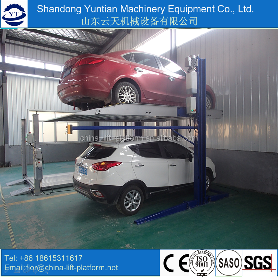 best selling 4 post backyard buddy car lift prices with factory price